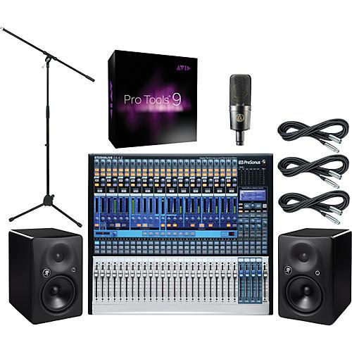 presonus studiolive 24 pro tools 9 package musician 39 s friend. Black Bedroom Furniture Sets. Home Design Ideas