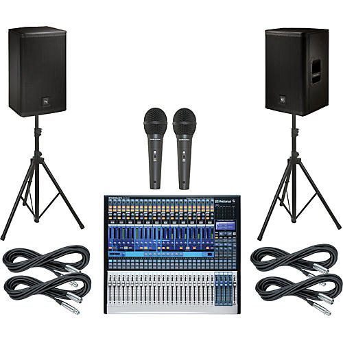 PreSonus StudioLive 24.4.2 PA Package with 12