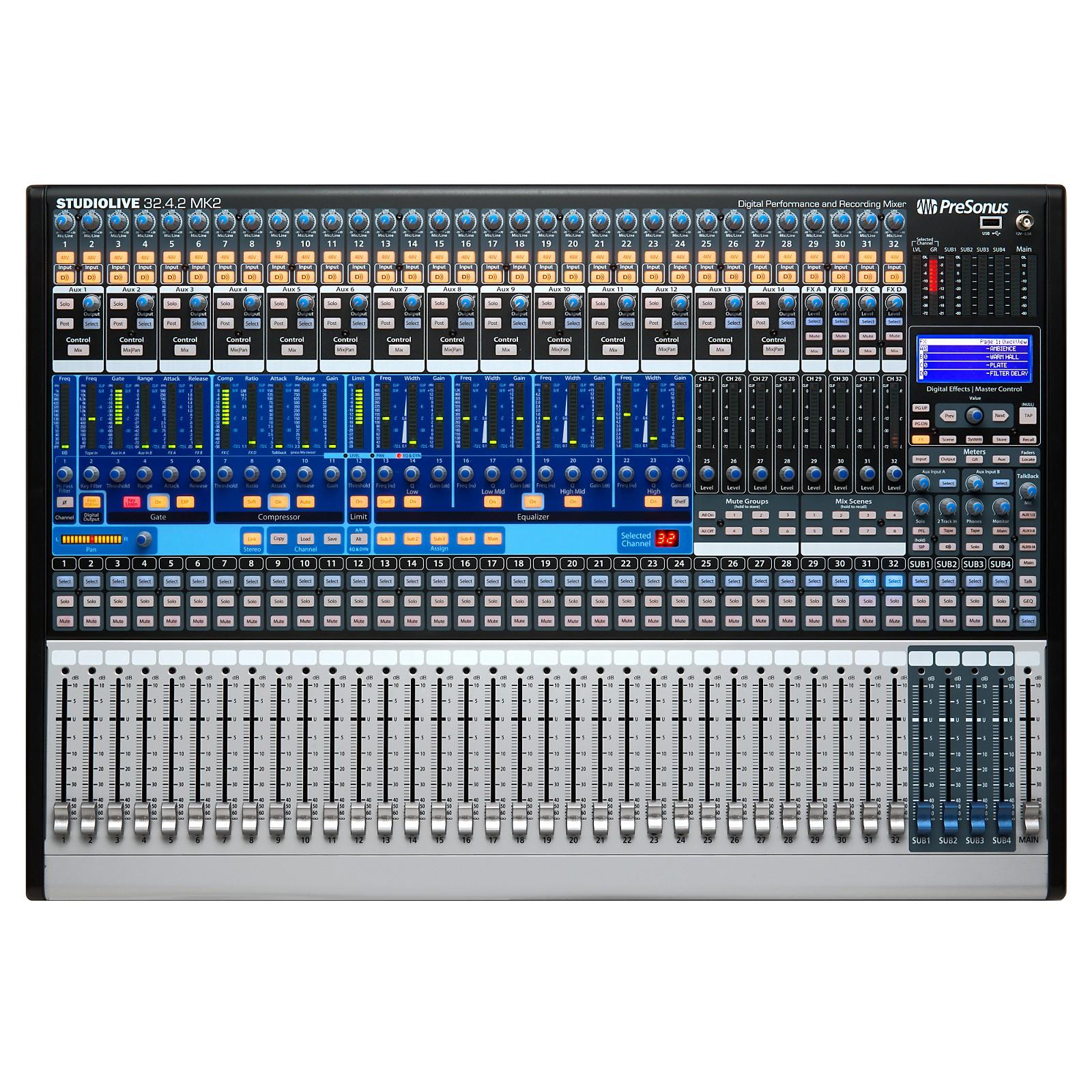 PreSonus StudioLive 32.4.2 AI 32-channel Digital Mixer with Active Integration