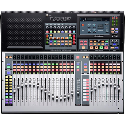 PreSonus StudioLive 32SX 32-Channel Mixer with 25 Motorized Faders and 64x64 USB Interface