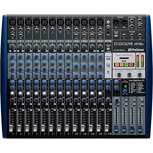PreSonus StudioLive AR16c 16-Channel Hybrid Digital/Analog Performance Mixer