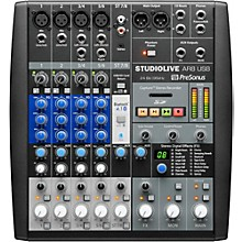 Open Box PreSonus StudioLive AR8 8-Channel Hybrid Digital/Analog Performance Mixer
