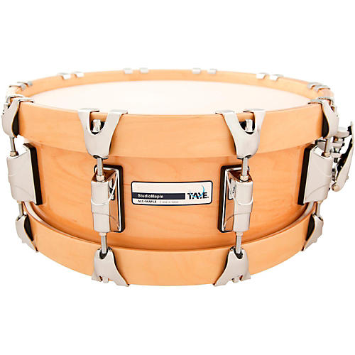 taye drums studiomaple snare drum with natural maple wood hoops musician 39 s friend. Black Bedroom Furniture Sets. Home Design Ideas