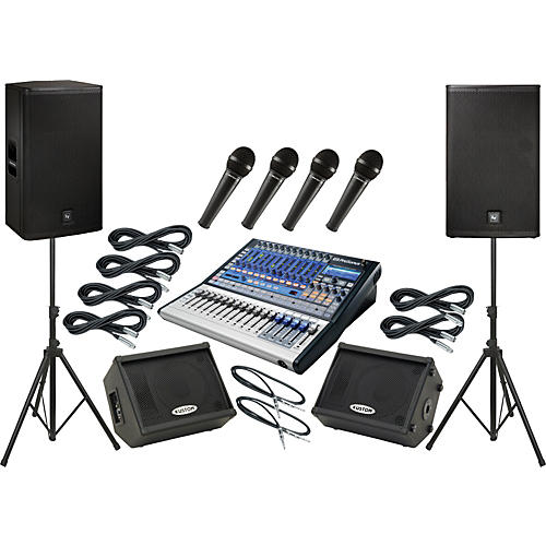 PreSonus Studiolive 16.0.2 / EV ELX115P Mains and Monitors Package