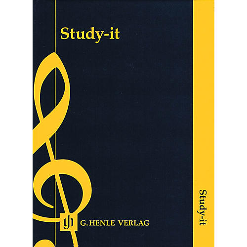 G. Henle Verlag Study-it Sticky Notes Henle Music Folios Series Hardcover