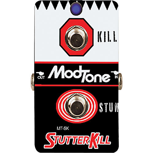 modtone stutterkill kill switch guitar effects pedal musician 39 s friend. Black Bedroom Furniture Sets. Home Design Ideas