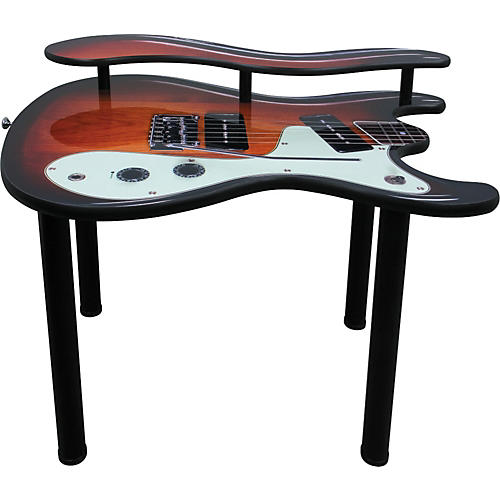 Wilson Brothers Style Guitar Computer Table