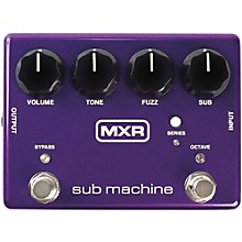 Open Box MXR Sub Machine Octave Fuzz Guitar Effects Pedal