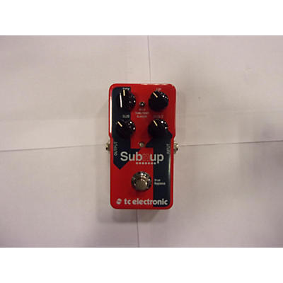 TC Electronic Sub N Up Octaver Effect Pedal