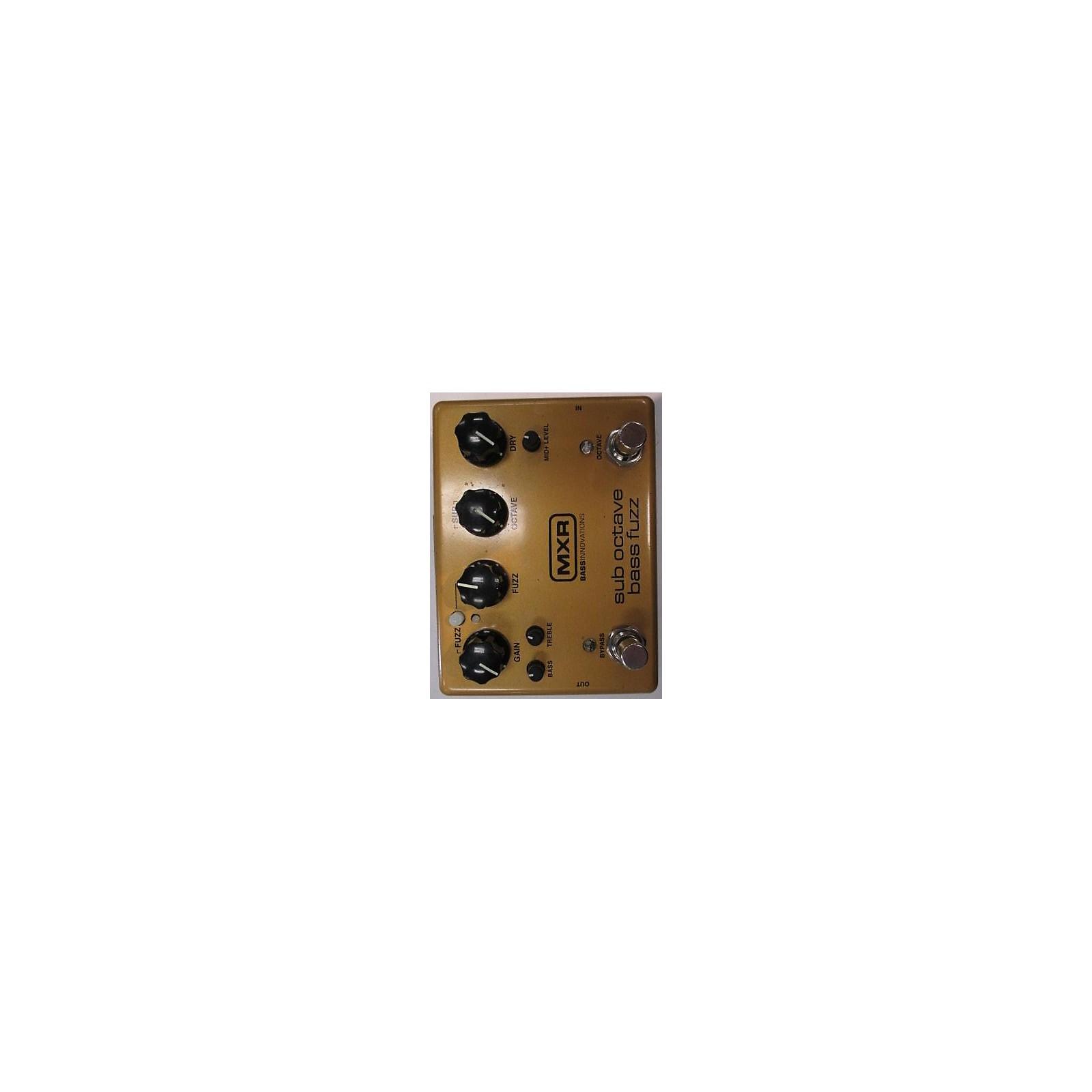 MXR Sub Octave Bass Fuzz Bass Effect Pedal