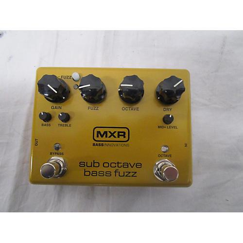 Sub Octave Bass Fuzz Bass Effect Pedal