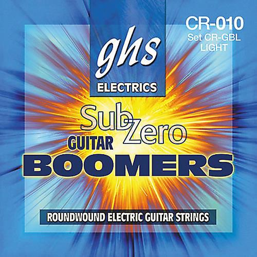 GHS Sub Zero Guitar Boomers Light