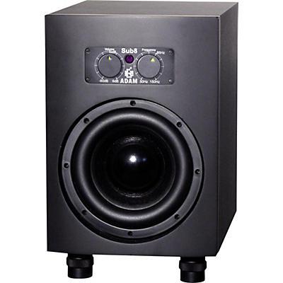"""ADAM Audio Sub8 8"""" Powered Studio Subwoofer (Each)"""