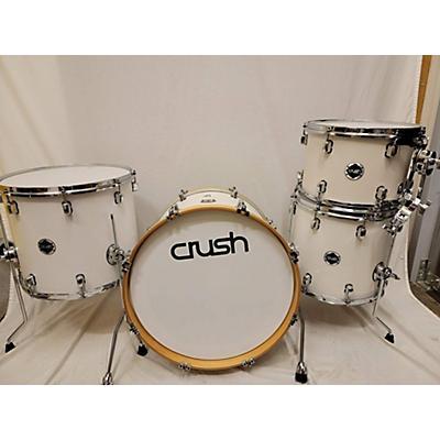 Crush Drums & Percussion Sublime Birch Satin White Drum Kit