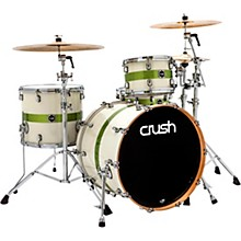 "Open Box Crush Drums & Percussion Sublime E3 Maple 4-Piece Shell Pack with 22x18"" Bass Drum"