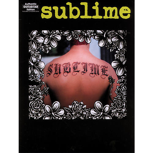 Alfred Sublime Guitar Tab Book