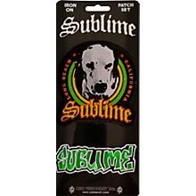 C&D Visionary Sublime Lou Dog and Logo Patch set