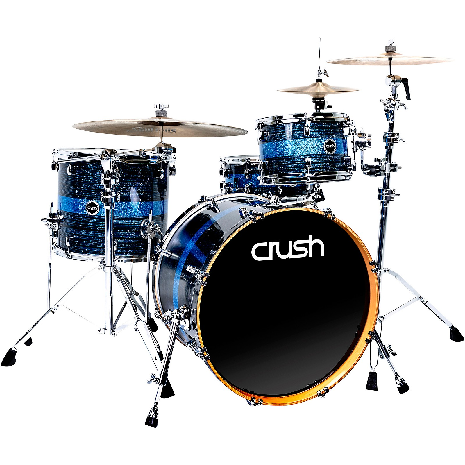 Crush Drums & Percussion Sublime ST Maple 3-Piece Shell Pack with 22 in. Bass Drum