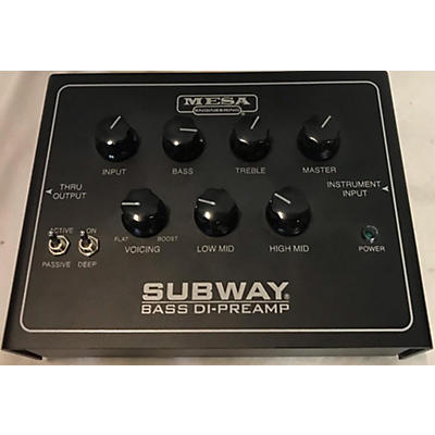 Mesa Boogie Subway Bass DI-Preamp Bass Effect Pedal