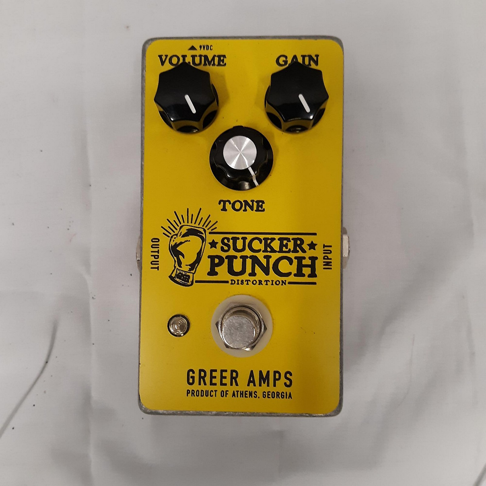 Greer Amplification Sucker Punch Effect Pedal
