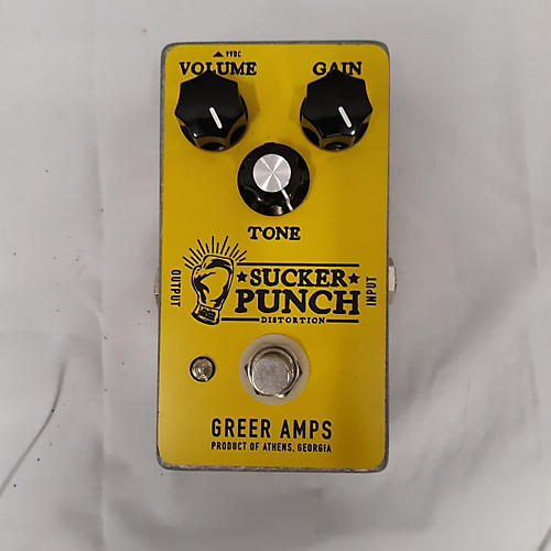 Sucker Punch Effect Pedal