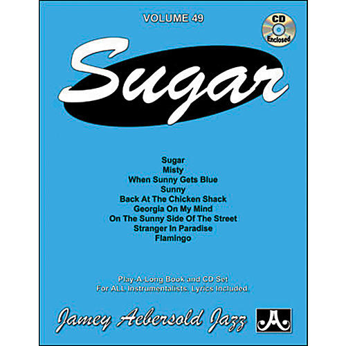 Jamey Aebersold Sugar Play-Along Book and CD