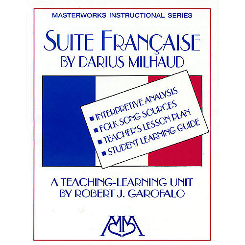 Hal Leonard Suite Francaise Concert Band Composed by Darius Milhaud