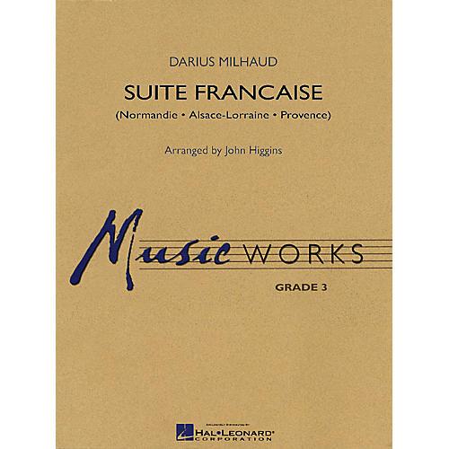 Hal Leonard Suite Francaise Concert Band Level 3 Arranged by John Higgins
