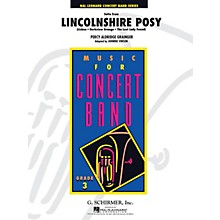 G. Schirmer Suite From Lincolnshire Posy Full Score Concert Band