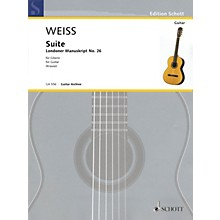Schott Suite Schott Series Softcover Composed by Silvius Leopold Weiss Edited by Ansgar Krause
