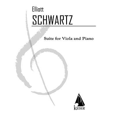 Lauren Keiser Music Publishing Suite (Viola with piano) LKM Music Series Composed by Elliott Schwartz