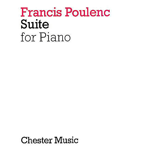 Chester Music Suite for Piano Music Sales America Series