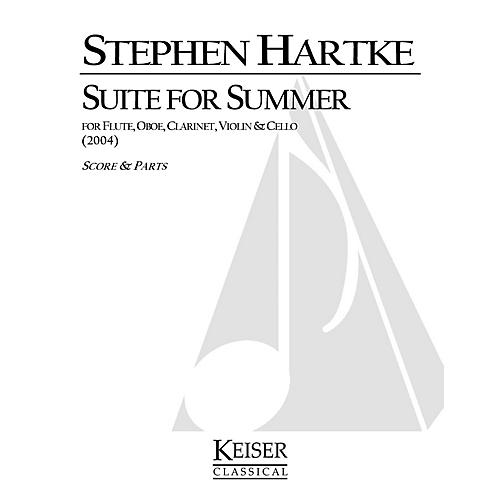 Lauren Keiser Music Publishing Suite for Summer LKM Music Series Composed by Stephen Hartke