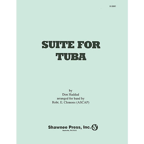 Hal Leonard Suite for Tuba (arranged for Tuba and Symphonic Band) Concert Band Level 4 Arranged by Robert E. Clemons
