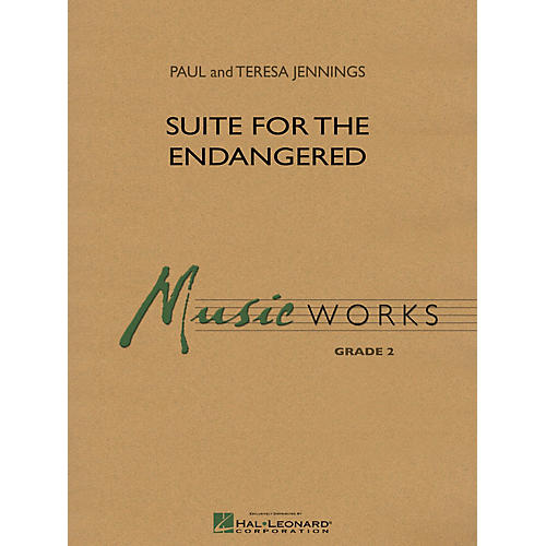 Hal Leonard Suite for the Endangered Concert Band Level 2 Composed by Paul Jennings