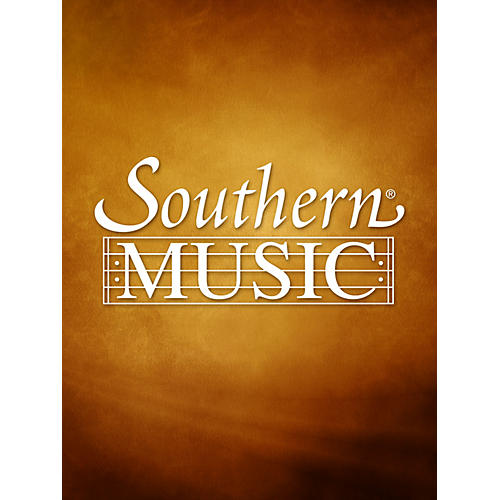 Southern Suite in A Minor, Part 3 (Woodwind Choir) Southern Music Series Arranged by Alfred Reed