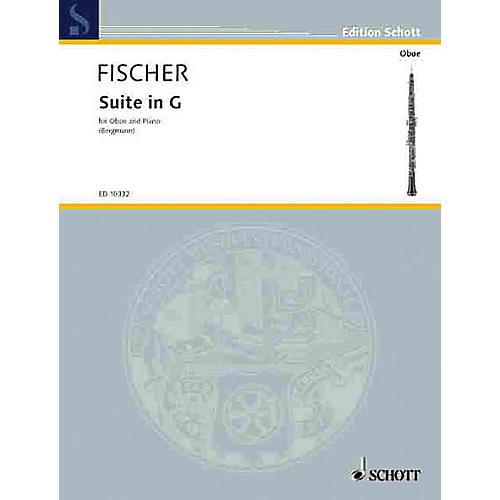 Schott Suite in G (Oboe with Piano Accompaniment) Schott Series