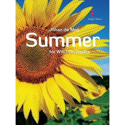 Amstel Music Summer (Full Score) Concert Band Composed by Johan de Meij