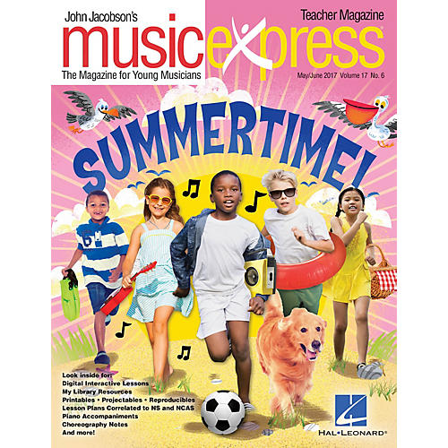Hal Leonard Summertime Vol. 17 No. 6 (May/June 2017) PREMIUM PAK by Katy Perry Arranged by Emily Crocker