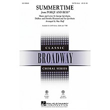 Hal Leonard Summertime (from Porgy and Bess) SATB Divisi arranged by Mac Huff