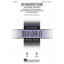 Hal Leonard Summertime (from Porgy and Bess) TTBB Arranged by Mac Huff