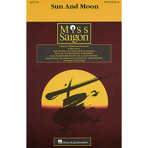 Hal Leonard Sun and Moon SATB arranged by Mac Huff