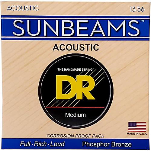 DR Strings Sunbeam Phosphor Bronze Medium Heavy Acoustic Guitar Strings