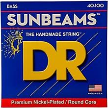 DR Strings Sunbeams NLR-40 Light 4-String Bass Strings