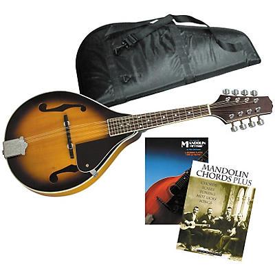 Musician's Friend Sunburst Mandolin Starter Kit