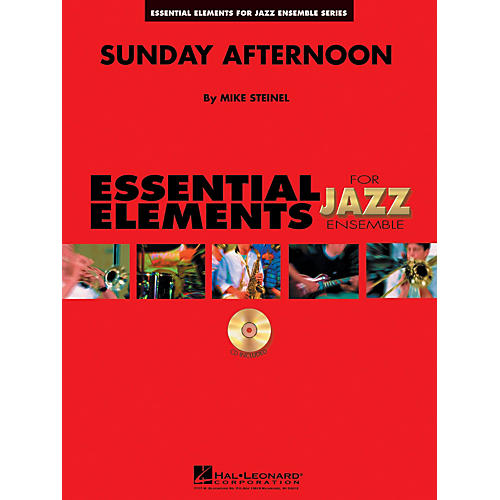 Hal Leonard Sunday Afternoon Jazz Band Level 1-2 Composed by Mike Steinel