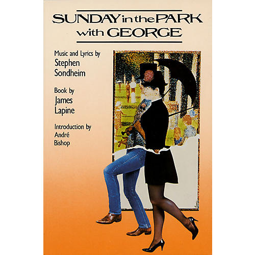 Applause Books Sunday in the Park with George Applause Libretto Library Series Softcover