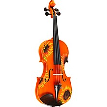 Open Box Rozanna's Violins Sunflower Delight Series Violin Outfit