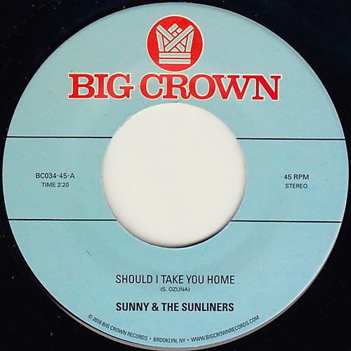 Alliance Sunny & Sunliners - Should I Take You Home / My Dream