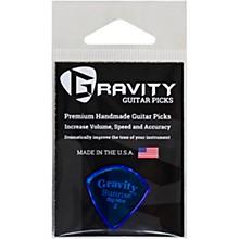 GRAVITY PICKS Sunrise Big Mini Polished Blue Guitar Picks